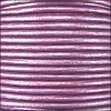 3mm round Indian leather - purple METALLIC - 25m SPOOL