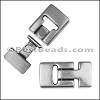 13mm flat T LATCH magnetic clasp - per 10 pieces