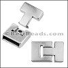 20mm x 5mm JUMBO T LATCH magnetic clasp - per 5 pieces