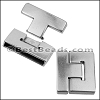 40mm x 5mm JUMBO T LATCH magnetic clasp - per 5 pieces
