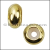 Extra Small Bead Stopper - GOLD - 10 pcs