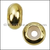 Medium Bead Stopper - GOLD - 10 pcs