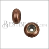 Extra Small Bead Stopper - ANT COPPER - 10 pcs
