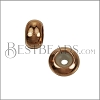 Extra Small Bead Stopper - ROSE GOLD - 10 pcs