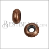 Small Bead Stopper - ANT COPPER - 10 pcs