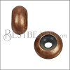 Medium Bead Stopper - ANT COPPER - 10 pcs