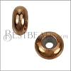 Medium Bead Stopper - ROSE GOLD - 10 pcs