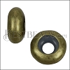 Large Bead Stopper - ANT BRASS - 10 pcs