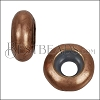 Large Bead Stopper - ANT COPPER - 10 pcs