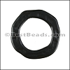 SMALL HAMMERED RING slider NITE BLACK - per 10 pieces