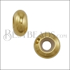 Small Bead Stopper - GOLD - 10 pcs