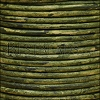 3mm round Indian leather - NATURAL GREEN - 25m SPOOL