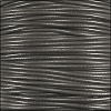 1mm round KANGAROO leather GREY - per 25m SPOOL