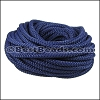 5mm round nylon cord NAVY - per 10 meters