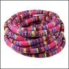 6mm round Multi Cotton Cord FUCHSIA - per 5 meters