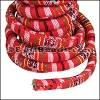 Regaliz® Multi Cotton Cord BRIGHT RED - per 3 meters