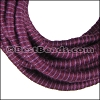 5mm round Knitted Cord PURPLE - per 5 meters