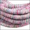 5mm round Knitted Cord PINK - per 5 meters