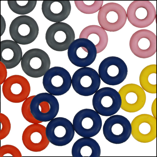 5mm O Rings for 3mm Round or Flat
