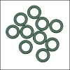 10mm rubber o-rings per 10 pieces SAGE