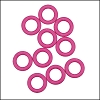 10mm rubber o-rings per 10 pieces FLAMINGO