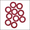 10mm rubber o-rings per 10 pieces CHERRY