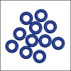 7.25mm rubber o - rings 10 pcs COBALT