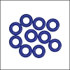 7.25mm rubber o - rings 10 pcs INDIGO