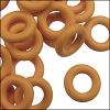 7.25mm rubber o-rings per 10 pieces CARAMEL
