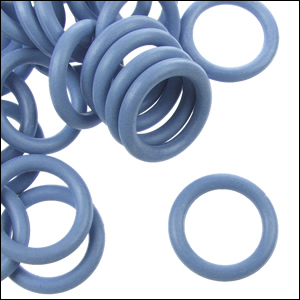 12mm Rubber O Rings Per 10 Pieces Ice Blue