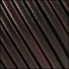 6mm Round (with hole) Portuguese Leather DISTRESSED BROWN - 1 meter