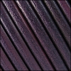 6mm Round (with hole) Portuguese Leather PURPLE - 1 meter