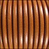 5mm Round Premier Leather HAZELNUT - per 10 feet
