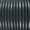 5mm Round Premier Leather GREY - per 10 feet