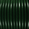 5mm Round Premier Leather BOTTLE GREEN - per 10 feet