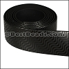 25mm flat GLOSSY band STYLE 3 - per 1 meter