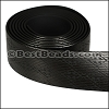 25mm flat GLOSSY band STYLE 4 - per 1 meter