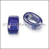 Regaliz® 15mm OVAL ceramic bead ROYAL BLUE - per 10 pcs