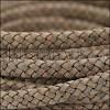 MINI Regaliz® Braided Leather NATURAL TAN - 1 meter