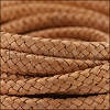 MINI Regaliz® Braided Leather CREAM - 1 meter