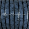 Regaliz® BARK Leather PACIFIC BLUE - per meter