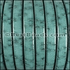 Regaliz® BARK Leather TURQUOISE - per meter
