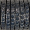 Regaliz® SCALES Leather PACIFIC BLUE - per 2 meters