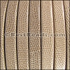 Regaliz® Leather Oval TEXTURED TAN - per meter