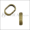 Regaliz CRIMP spacer ANT BRASS - 10 pcs