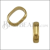 Regaliz CRIMP spacer SHINY GOLD - 10 pcs