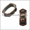 Regaliz® BUMPY spacer ANT. COPPER - 10 pcs