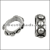 Regaliz® BUMPY spacer ANT. SILVER - 10 pcs