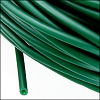 rubber tube 3mm per FOOT KELLY GREEN