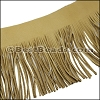 Suede Fringe Leather TAN - 16